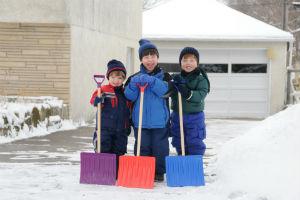 Snow Removal & Winter Maintenance on Decorative Concrete