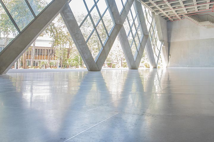 benefits of polished concrete-floors-for-your-commercial construction project