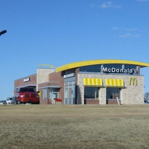 mcdonalds bristow commercial concrete project