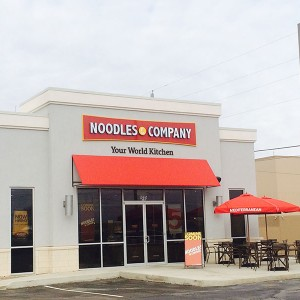 noodles company commercial concrete project