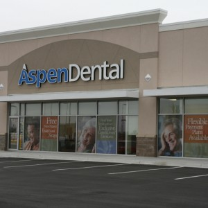 aspen dental commercial concrete project
