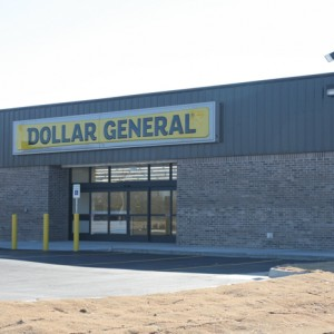 dollar general peggs ok commercial concrete project