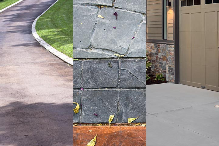 driveway comparison what driveway best for budget